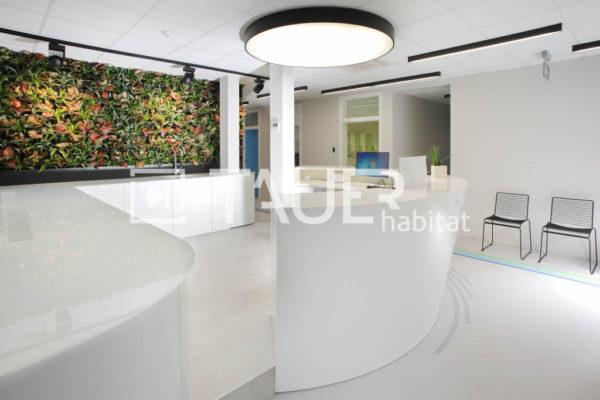 Designová recepce Zubárna od TAUER habitat 2