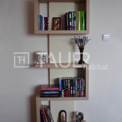 Designová knihovna od TAUER habitat 42