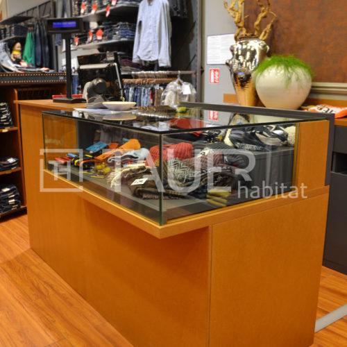 Prodejní vitrína od TAUER habitat 21