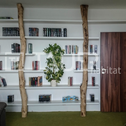 Designová knihovna od TAUER habitat 12