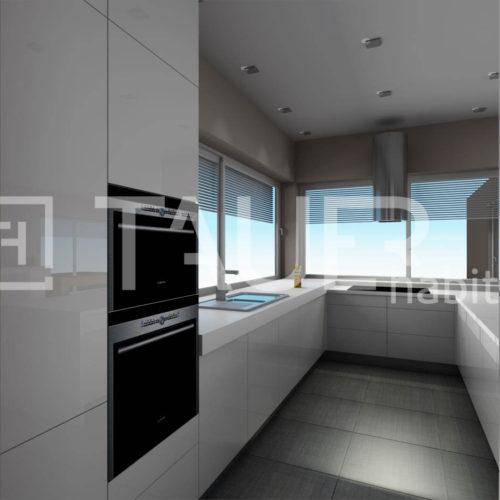 Vizualizace kuchyně od TAUER habitat 61