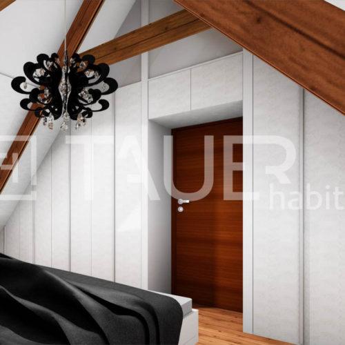 Vizualizace ložnice od TAUER habitat 74