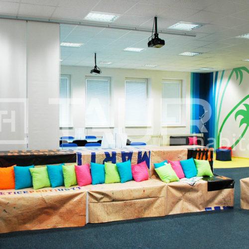 Coworkingová aula VŠP od TAUER habitat 14