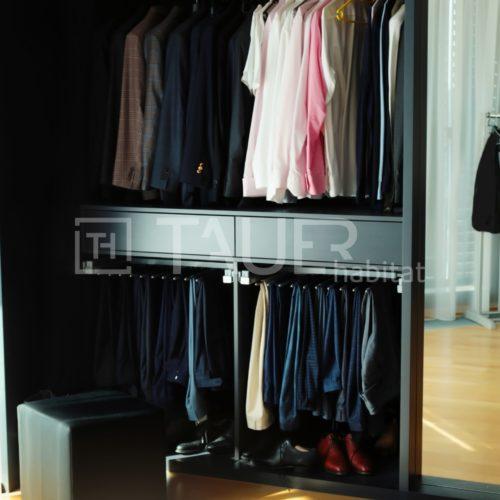 Designová vestavěná skříň od TAUER habitat 18