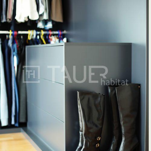 Designová vestavěná skříň od TAUER habitat 19