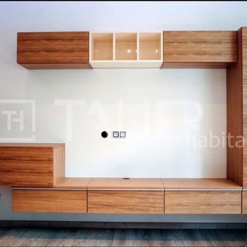 Designová televizní stěna od TAUER habitat 8
