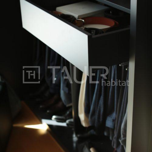 Designová vestavěná skříň od TAUER habitat 20