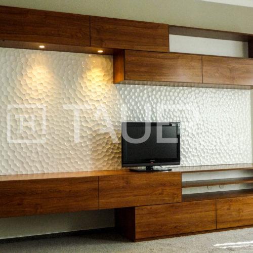 Designová televizní stěna od TAUER habitat 7